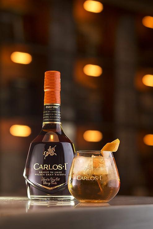 Brandy de Jerez Solera Gran Reserva Carlos I - 1 botella de 70 cl