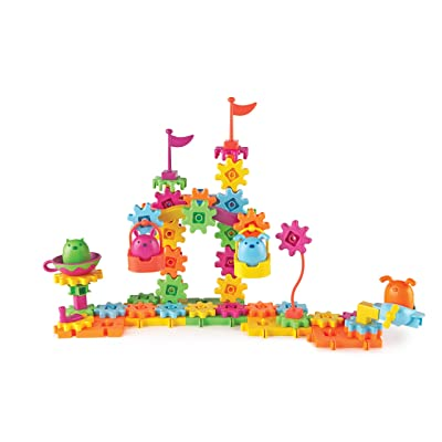 Learning Resources Gears! Gears! Gears! Pet Playland, Gears Toy, Building Set, 83 Pieces, Ages 4+: Toys & Games