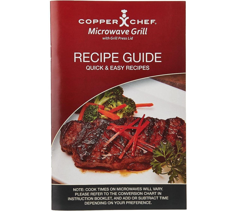 Amazon.com: Chef de cobre parrilla de microondas con grill ...