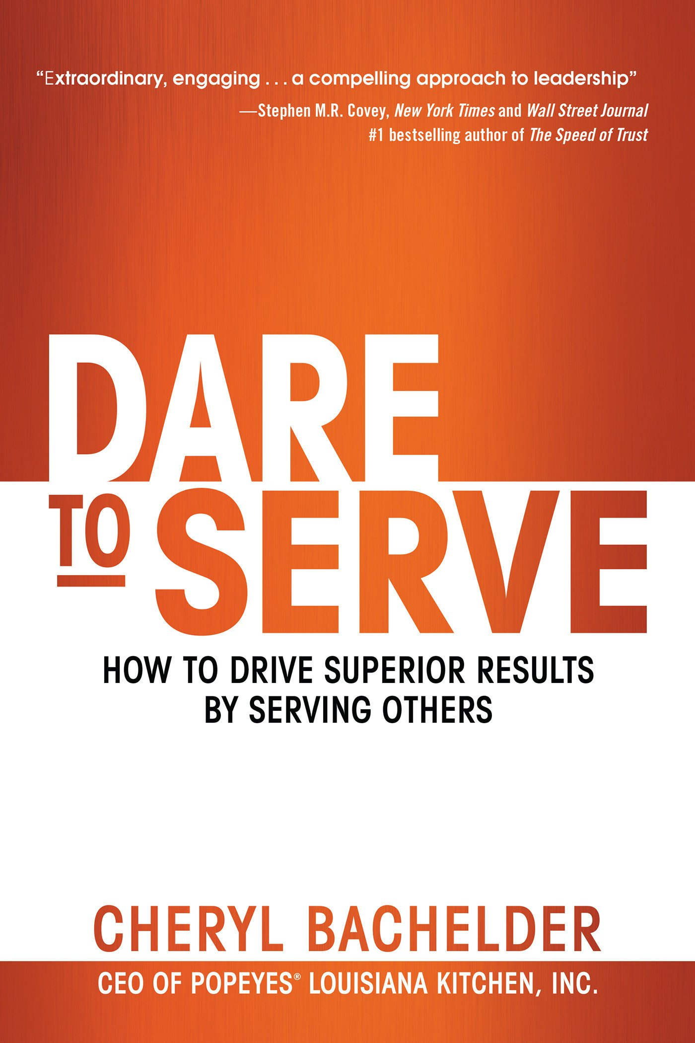 Image result for dare to serve book
