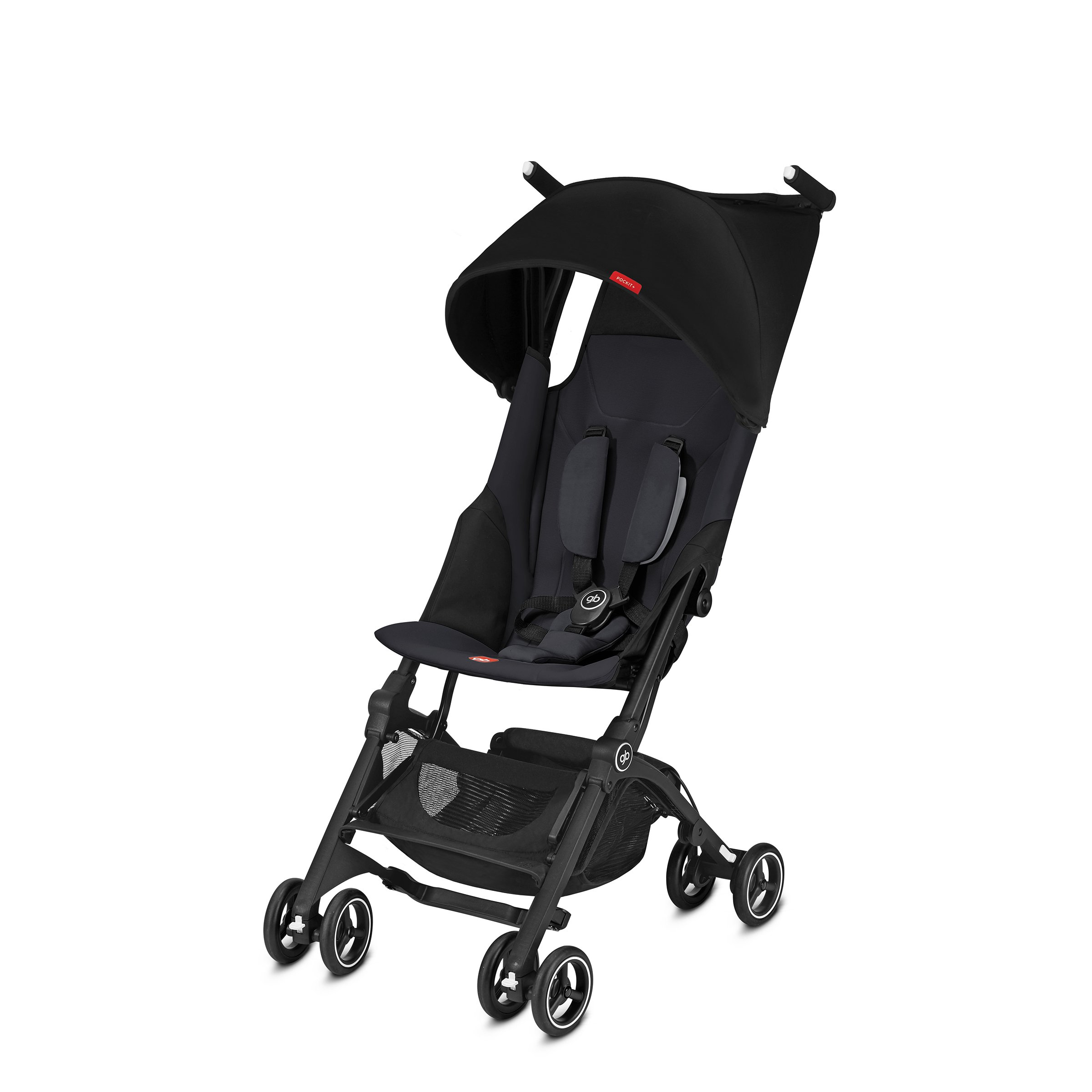 gb Pockit+ Lightweight Stroller, Satin Black
