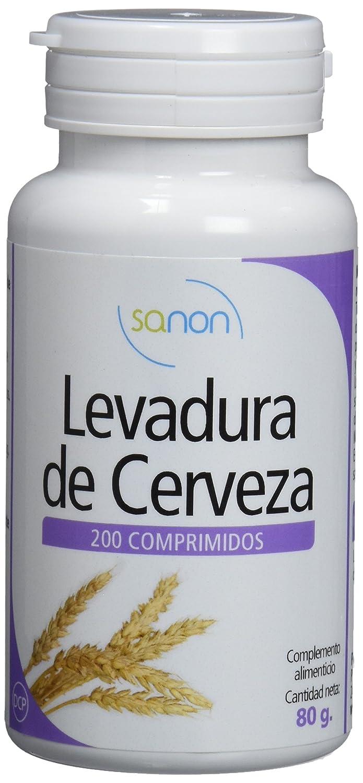 SANON Three Pack Levadura de Cerveza 200 comprimidos de 400 mg
