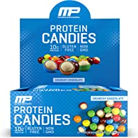 Deals on 12 Pack MusclePharm Protein Candies 10g Protein Chocolate 1.8oz