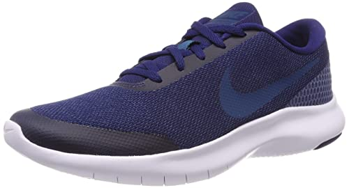 f68621867090 NIKE Men s Flex Experience RN 7 Navy Blue Running Shoes (908985-404 ...