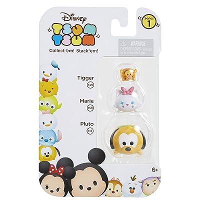 Tsum Tsum 3-Pack Figures: Pluto/Marie/Tigger: Toys & Games