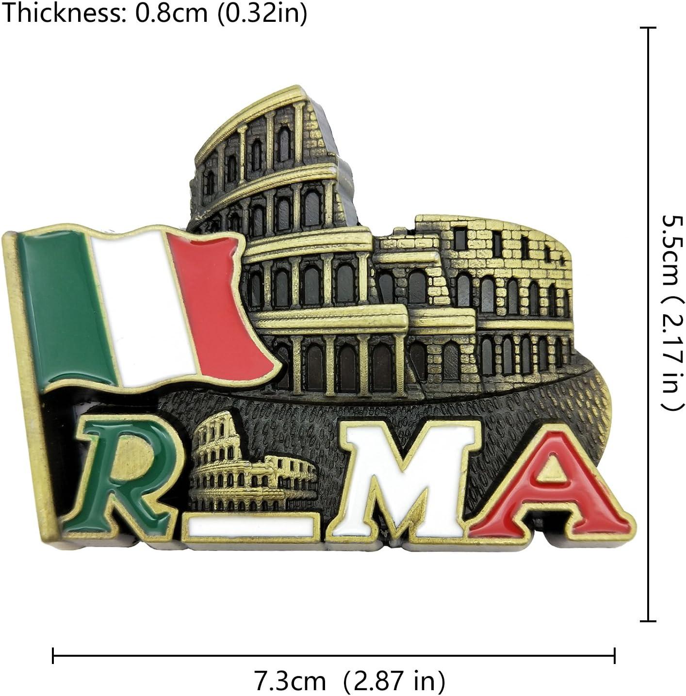 ROM Trevi Brunnen,Italien Souvenir Metall Magnet,8cm !!
