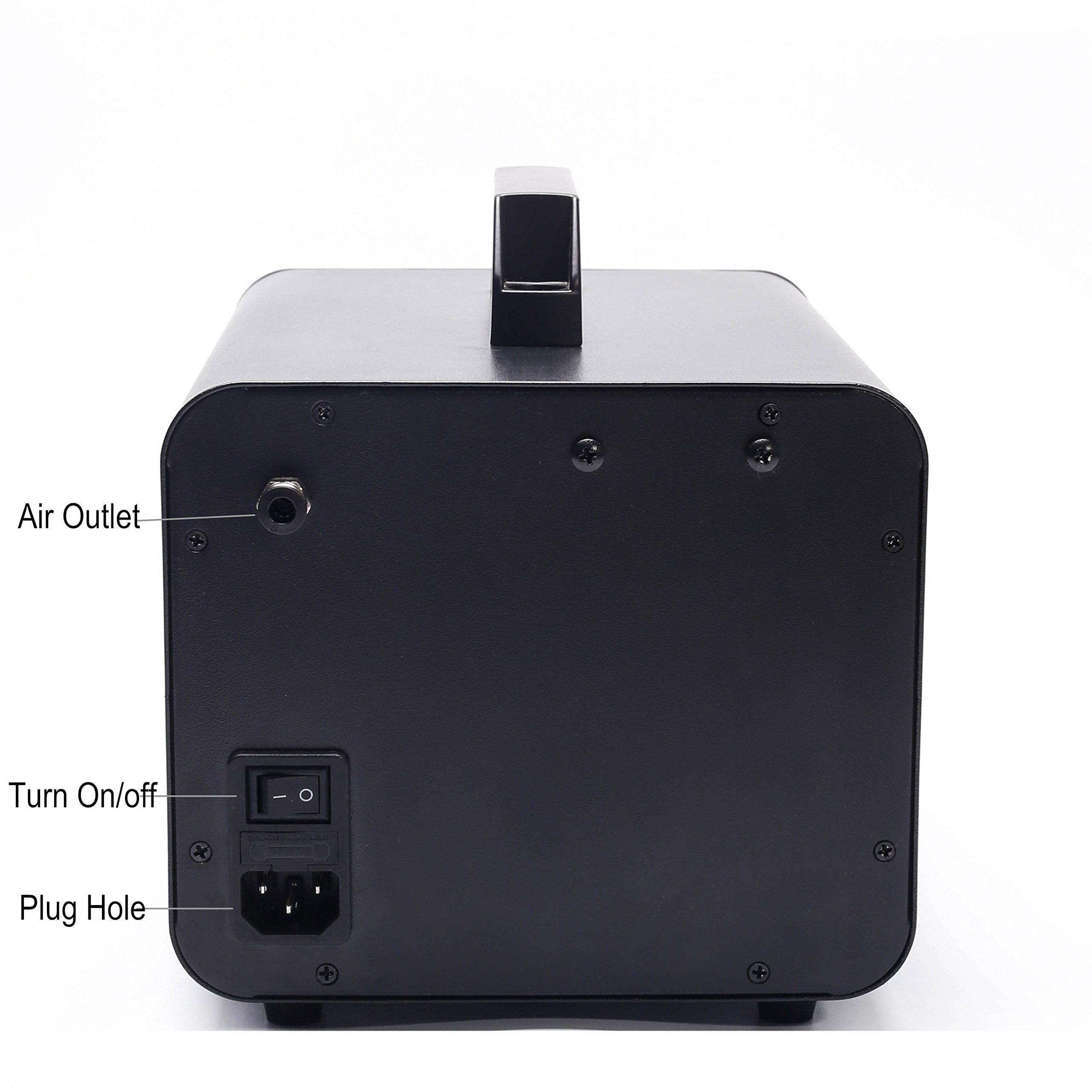 Kevinleo Scent Air Machine Portable 16,200-21,500 Square Feet, Waterless 100% Pure Essential Oil, Excellent Timer Panel from Monday to Sunday. can Hook to Air Conditioners,500ml Cartridge by Kevinleo (Image #6)