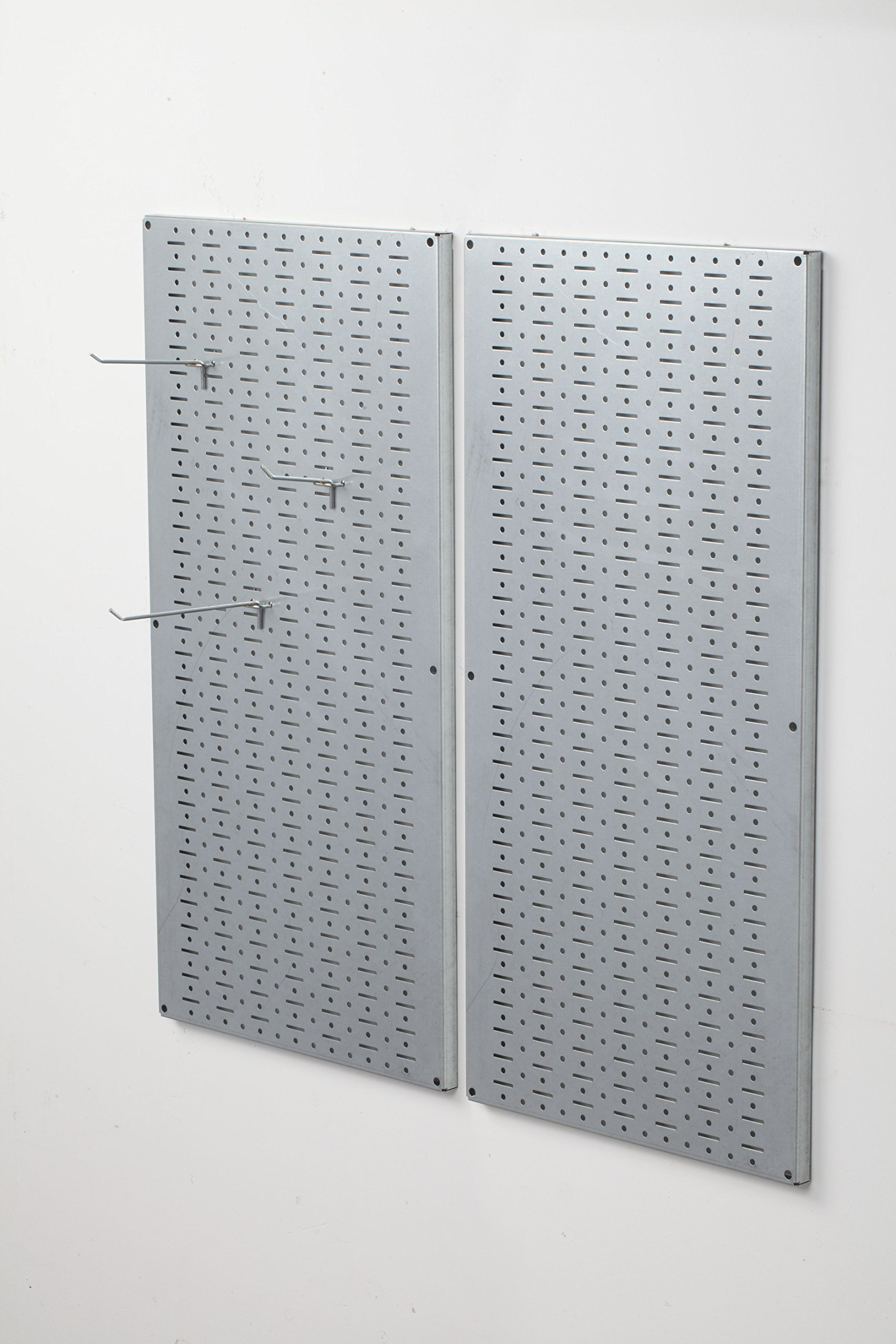 Muscle Rack GPB2 Galvanized Steel Pegboard Pack, 32'' Height, 16'' Width, 1'' Length by Muscle Rack (Image #1)