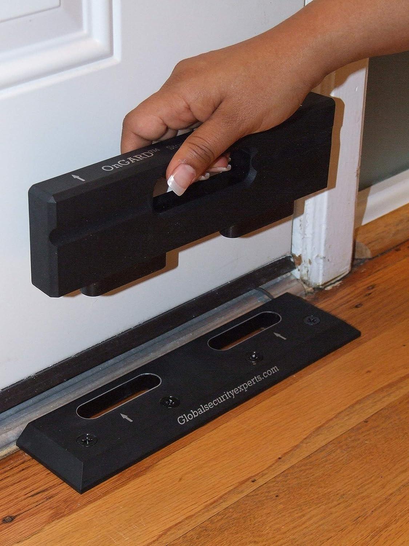 Stops Home Invasions /& Burglaries for Travel Nickel Prevent Unauthorized Entry WDDH Child Safety Door Security Lock Defender Door Locks Door Reinforcement Lock Family and Hotel Security