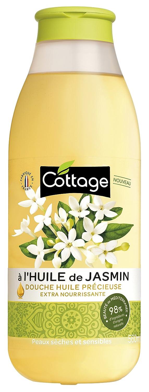 Cottage Douche Huile Extra Nourrissante Jasmin 560 ml - Lot de 4 5494