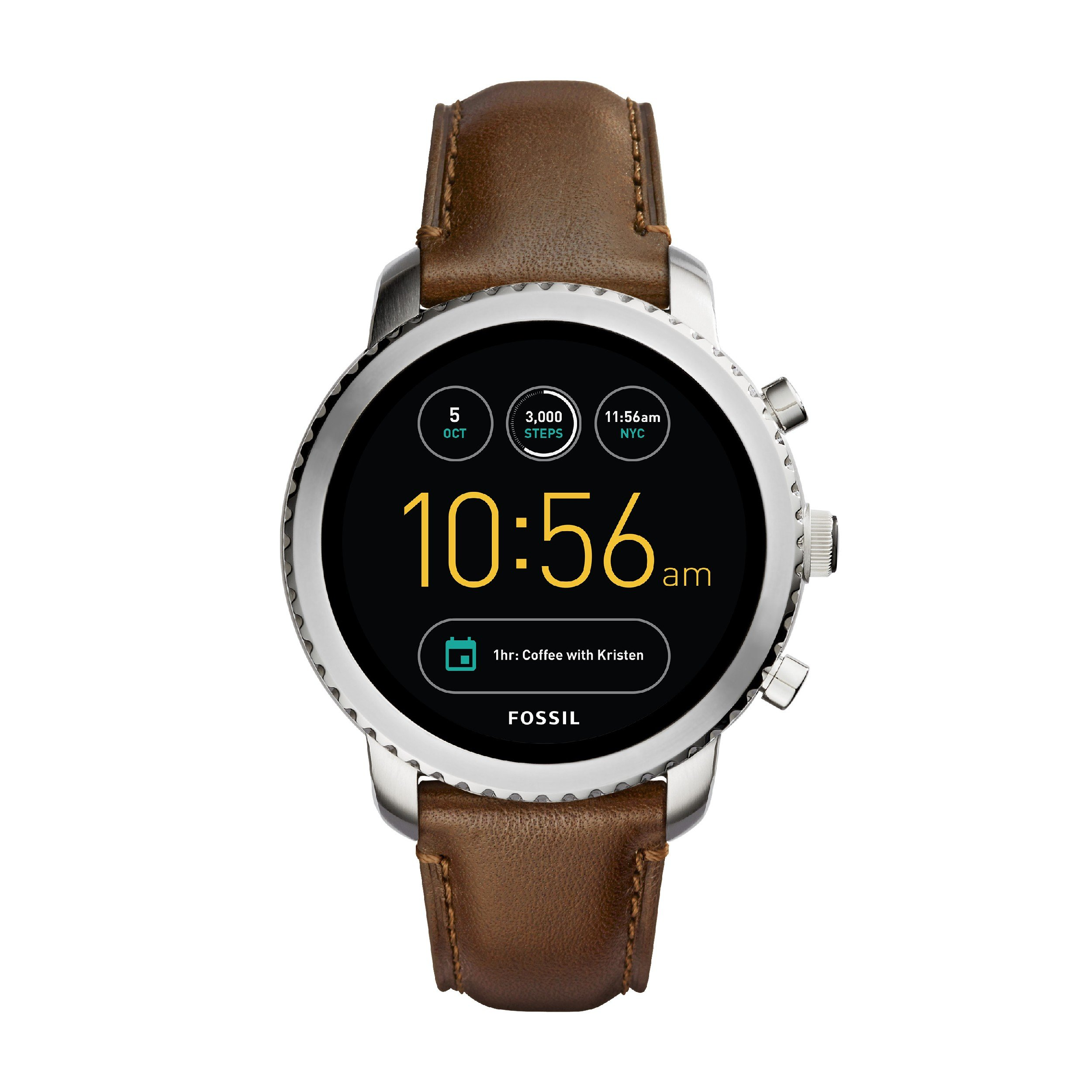 Fossil Q SMARTWATCH AMOLED watch Q EXPLORIST FTW4003