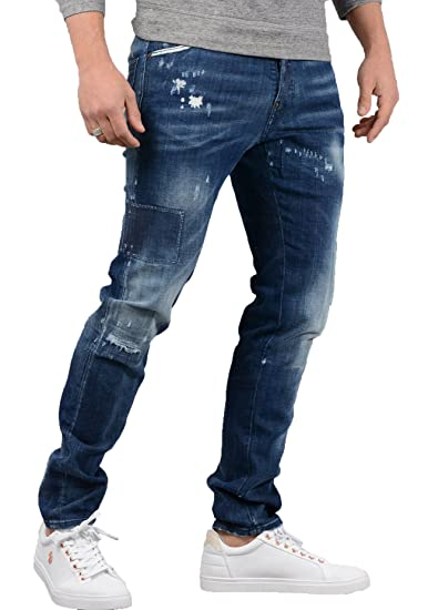 a1103b7576 DSQUARED2- Mens S74LB0323 Cool Guy Jean in Denim Blue  Amazon.co.uk   Clothing