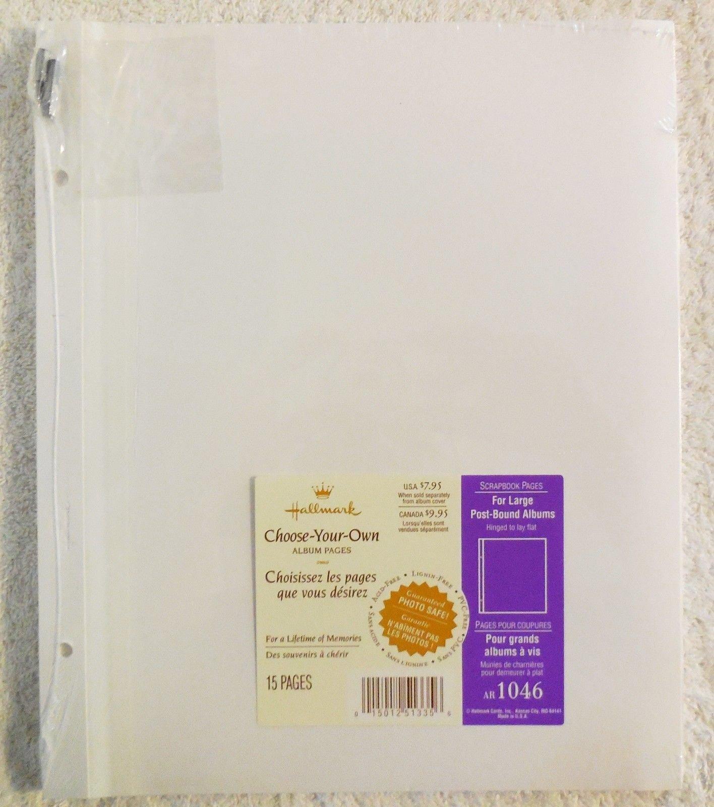 Hallmark Choose-Your-Own Album Pages AR 1046