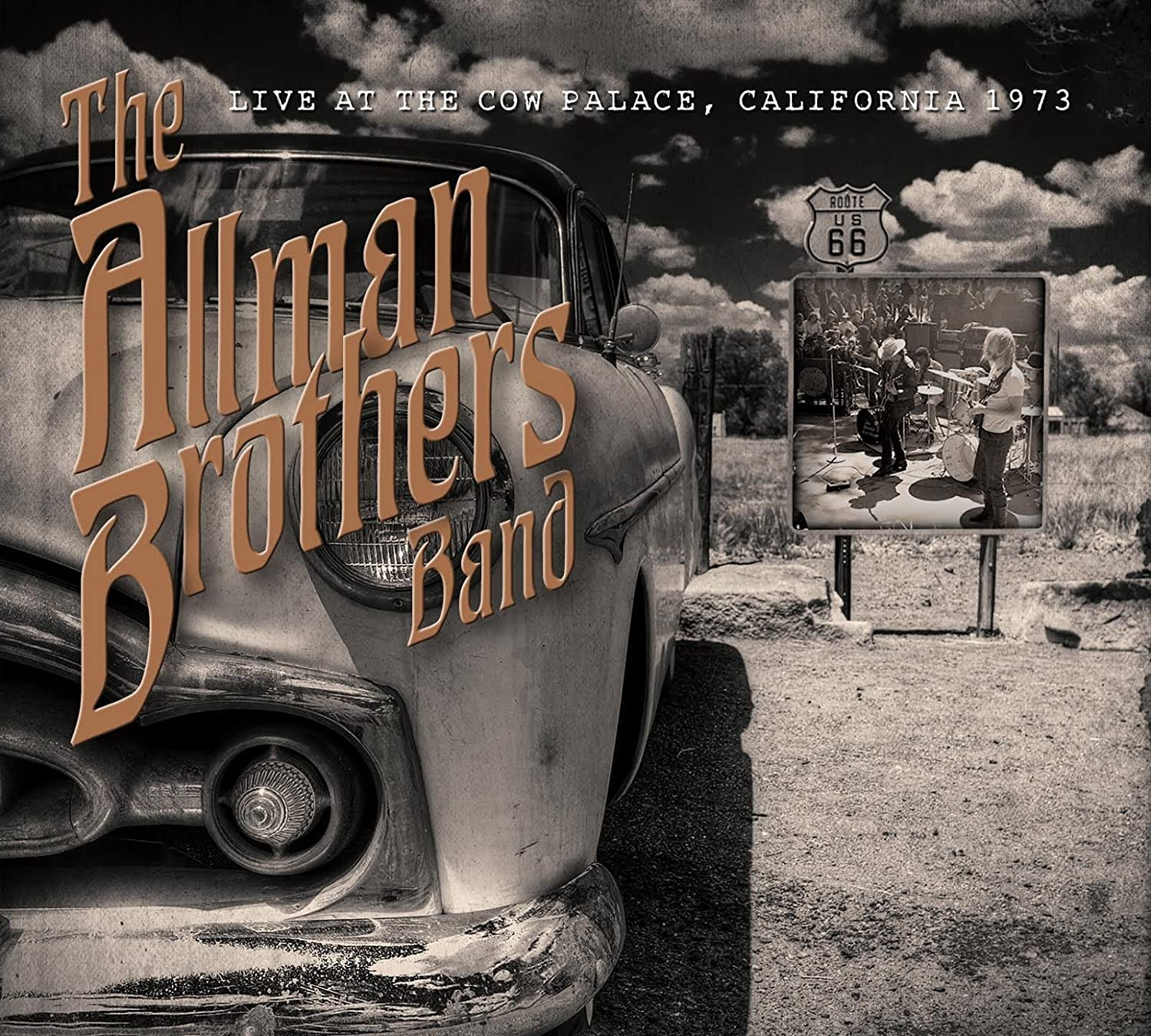 Live At The Cow Palace New Years Eve 1973 : the Allman Brothers ...