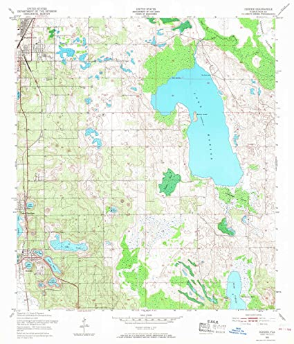 Amazon.com : YellowMaps Dundee FL topo map, 1:24000 Scale ...