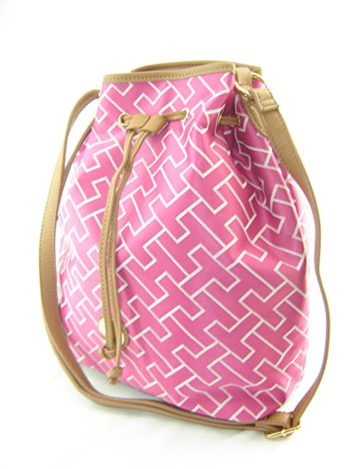 Tommy Hilfiger Drawstring Handbag Pink