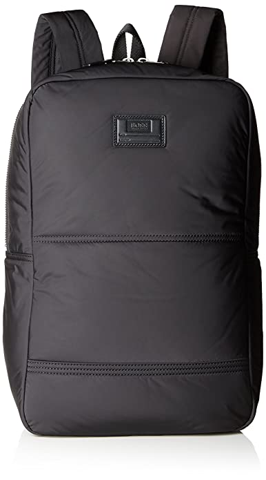 BOSS Orange - Bomber_10199208 01, Mochilas Hombre, Schwarz (Black), 16x45x29 cm