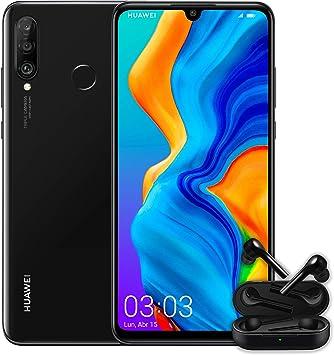 Huawei P30 Lite + Huawei Free Buds -Smartphone de 6.15