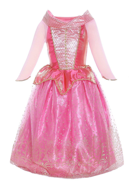 Katara 1709 - Disfraz de Princesa Aurora La Bella Durmiente Vestido ...
