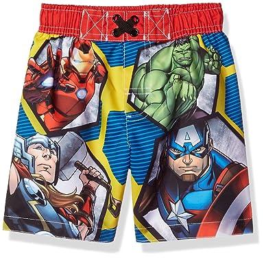 8fb0dd106e Amazon.com: Marvel Toddler Boys' Avenger Swim Trunk: Clothing