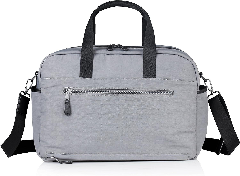 TWELVElittle Unisex Courage Satchel Diaper Bag Grey