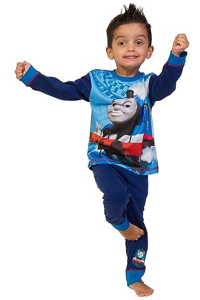 Pijama de The Pyjama Factory, con diseño de Thomas la máquina