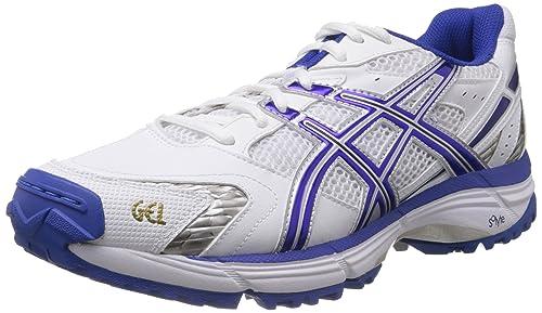 Royal and Silver Mesh Cricket Shoes