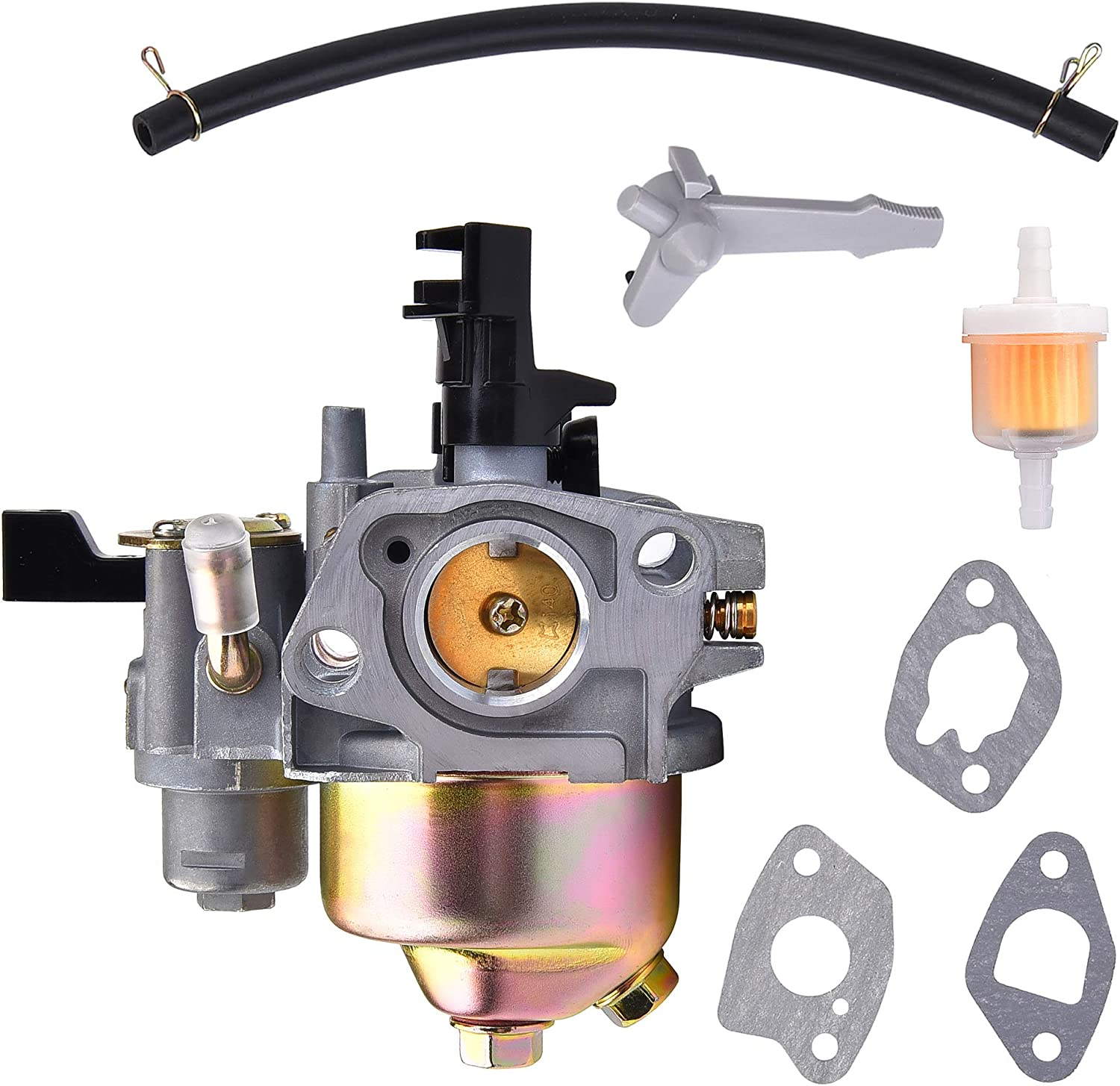 Carburetor with Gasket Set Replacement for Coleman Powersports CT200U KT196 196cc 5.5HP 6.5HP OHV Engine Go Kart Carb
