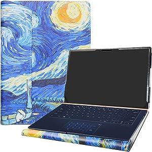 "Alapmk Protective Case Cover for 14"" ASUS ZenBook 14 UX433FN UX433FA-DH74/ZenBook 14 UX434FL UX434FL-DB77 & Lenovo ideapad S940-14IWL Laptop(Note:Not fit ZenBook UX430UA UX410UA UX431FA),Starry Night"