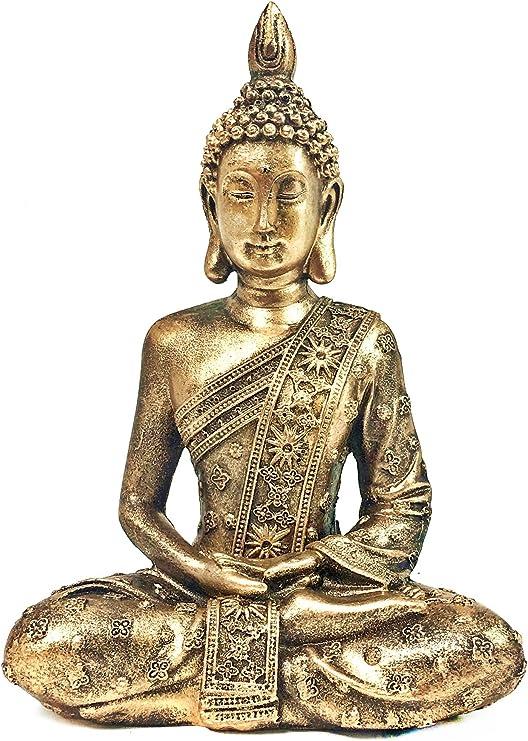 Thai Buddha Ornaments Home Decoration Crafts Resin Buddha Statue BS117 Brass statu