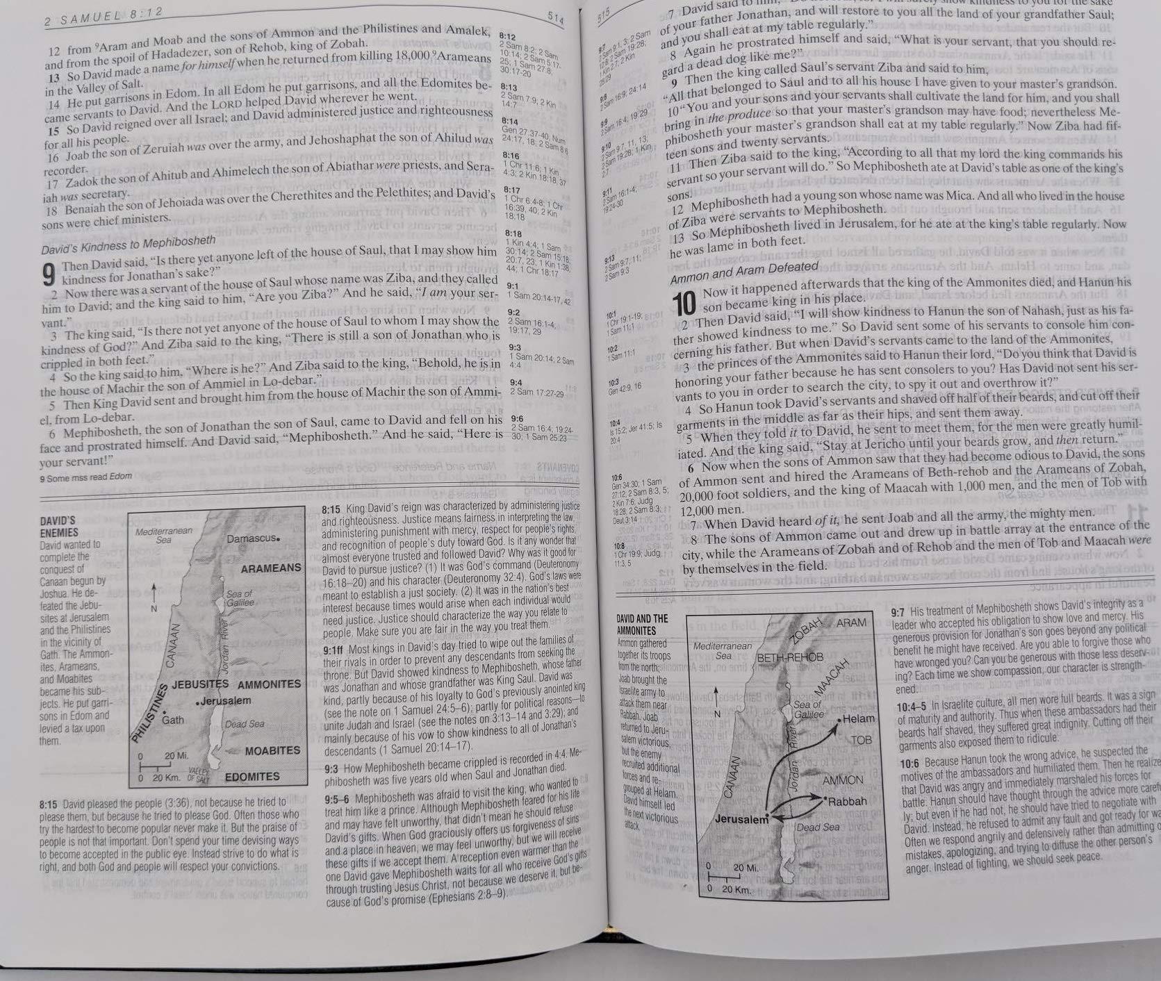 Life Application Study Bible, Indexed, NASB