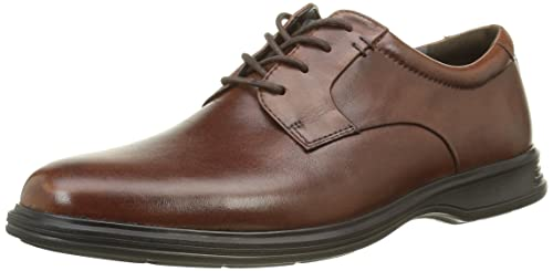 6aa8042ef24 Rockport France Men's Lace-Up Flats Brown Size: 40: Amazon.co.uk ...