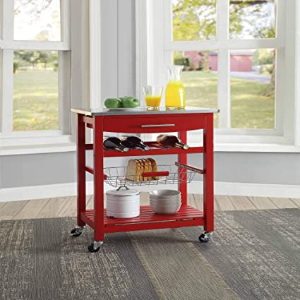 red kitchen carts – Eastentertainment