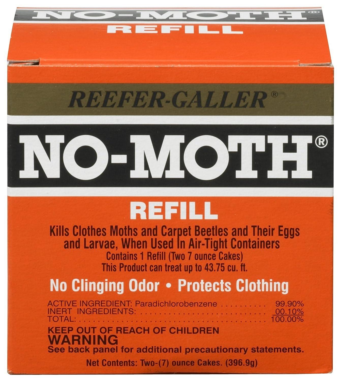 Reefer-Galler NO MOTH Closet Hanger Refill TV Non-Branded Items 1021.6