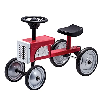 Schylling Tractor Ride On: Toys & Games