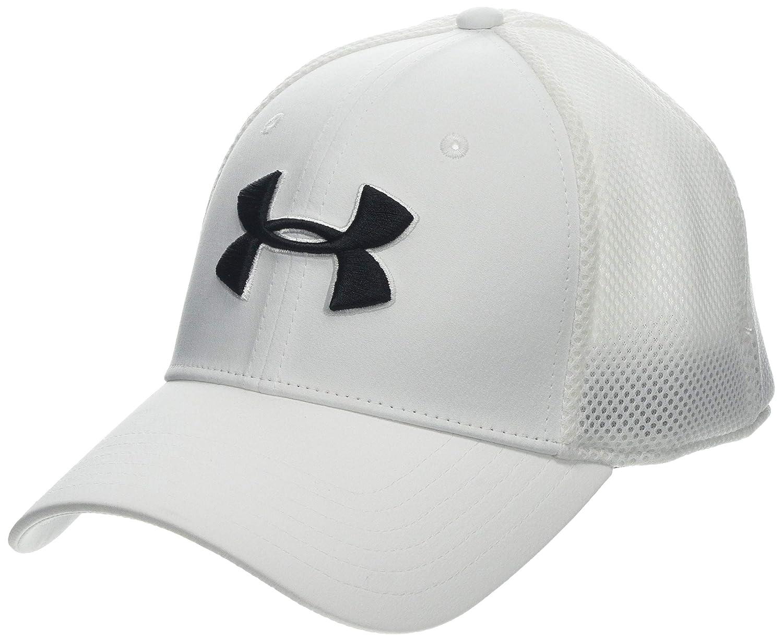 f6907dcfb00 Amazon.com  Under Armour Men s Microthread Golf Mesh Cap  Sports   Outdoors