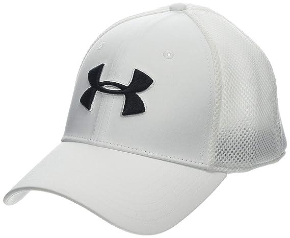 30e28d6d3a3 Amazon.com  Under Armour Men s Microthread Golf Mesh Cap  Sports   Outdoors