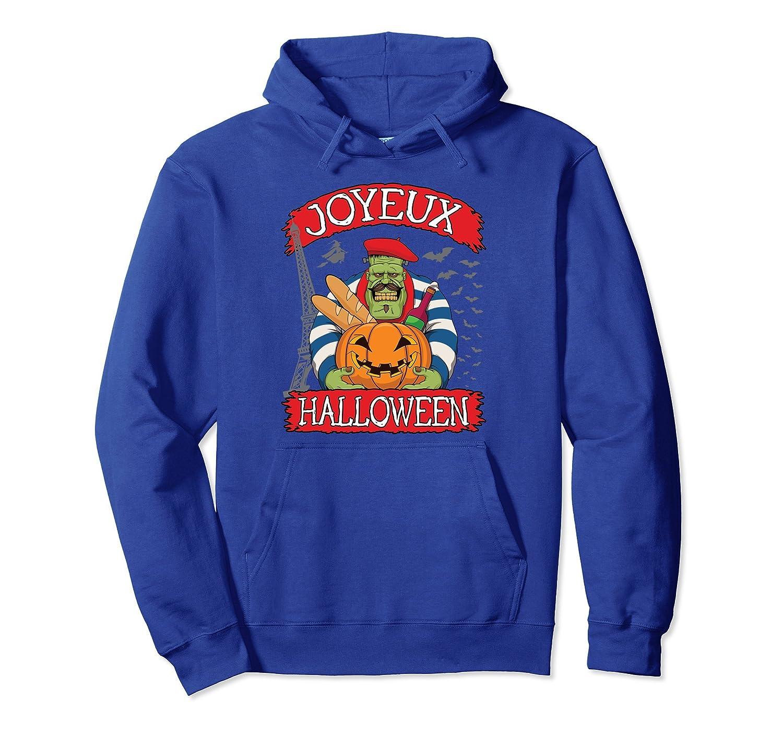 French Halloween Costume Hoodie Joyeux Halloween-ANZ