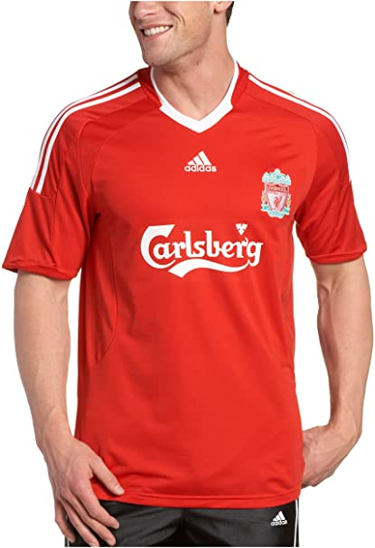separation shoes 5e89b dc170 Buy Liverpool Home Soccer Jersey (Medium) Online at Low ...