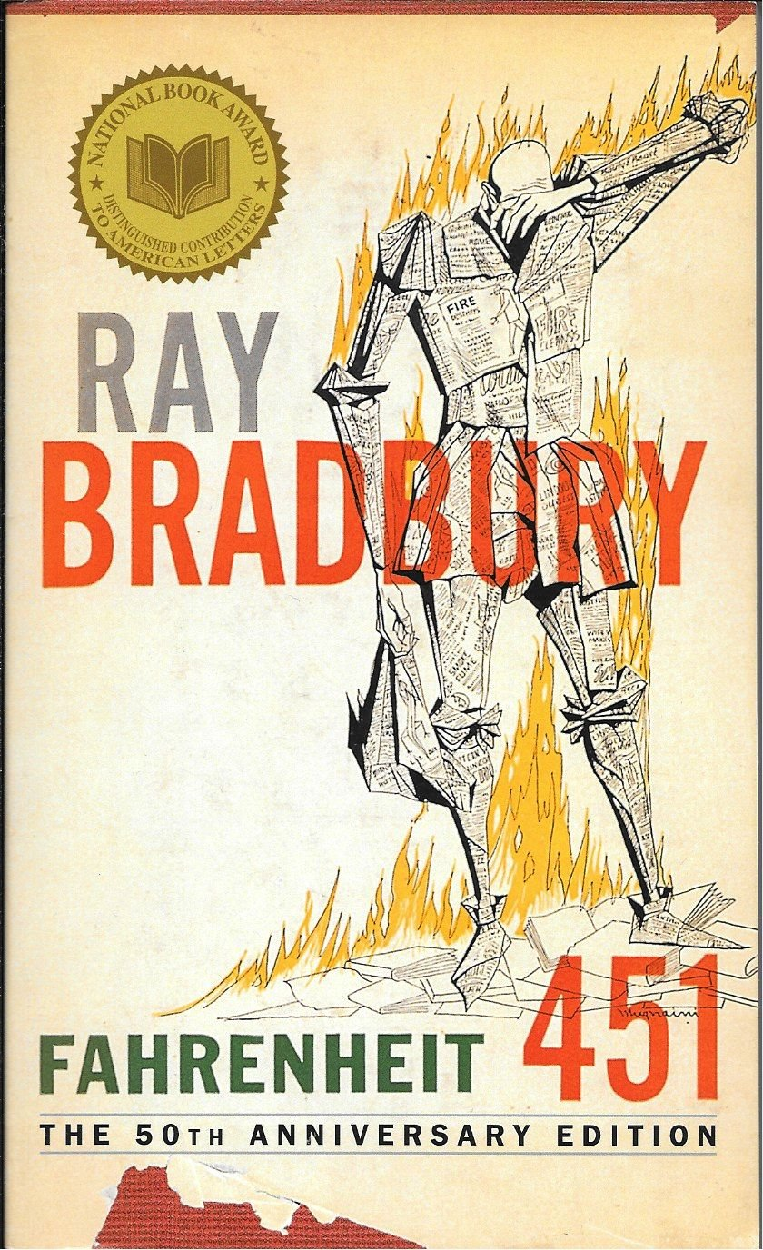 Fahrenheit 451, the 50th Anniversary Edition: Ray Bradbury: 9780345342966:  Amazon.com: Books