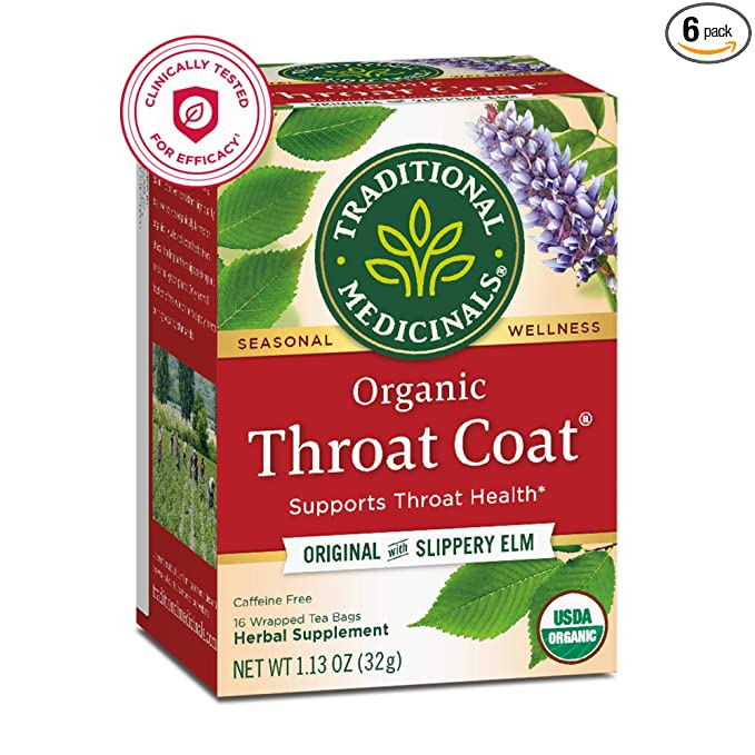 Amazon prime day deal: Throat Coat tea
