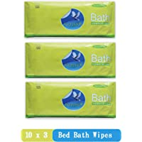 Glider Bed Bath Wipes (Pack Of 3, 30 Pcs)