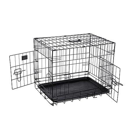 Pet Trex 2190 ABS - Caseta Plegable para Perros, Gatos o Conejos, 61 cm
