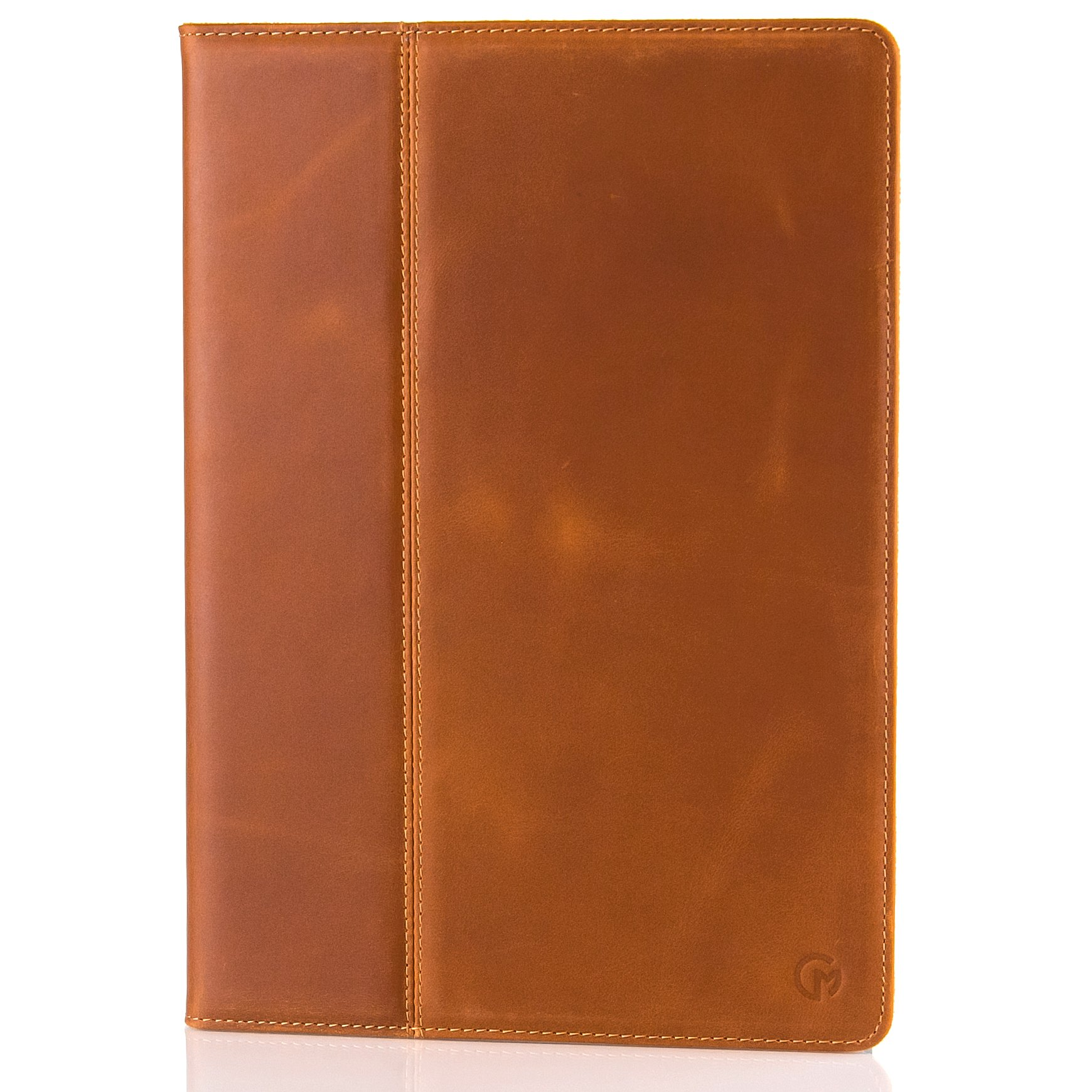iPad Pro (10.5 inch display) Case / Cover by Casemade Luxury Real Italian Leather for the Apple iPad Pro (Tan)