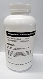 Potassium Carbonate 1kg (2.2lb) High Purity Food Grade