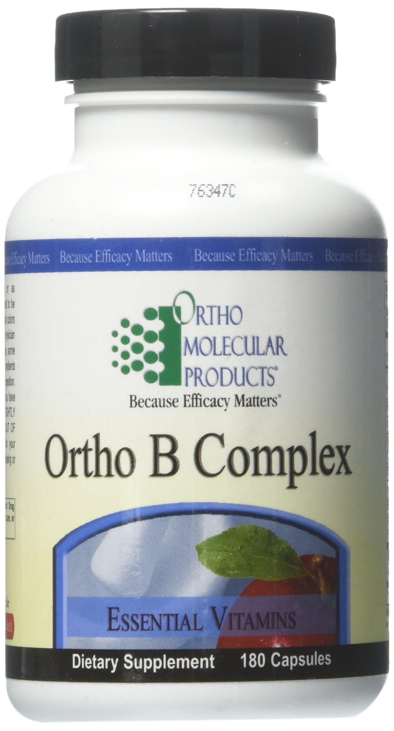 Ortho Molecular - Ortho B-Complex 180 capsules
