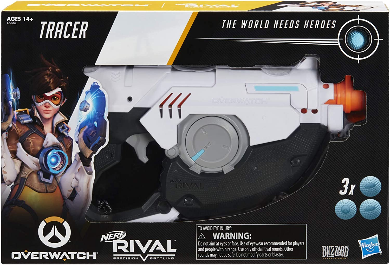NERF Rival Overwatch Tracer Blaster