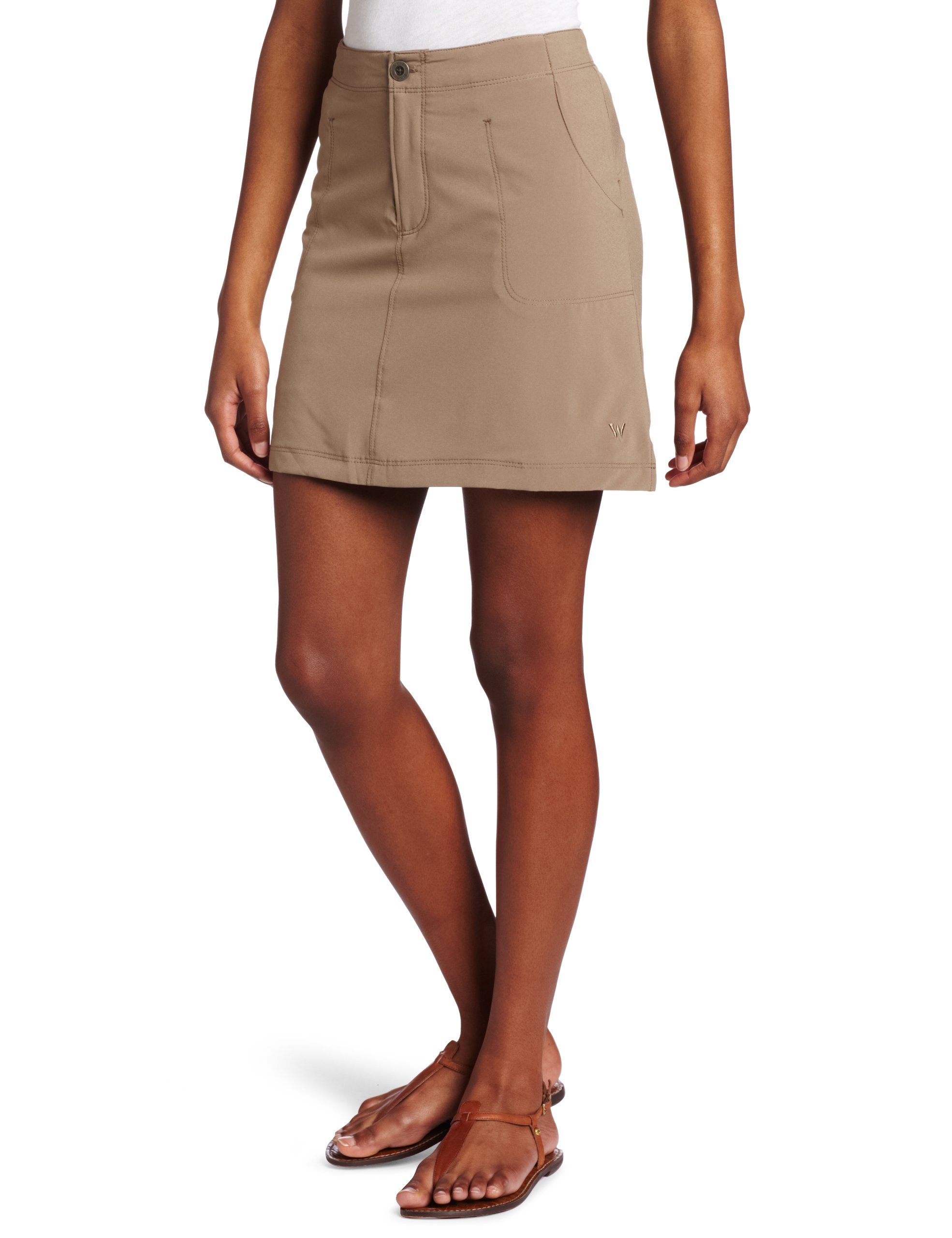 White Sierra Women's West Loop Trail Skort, X-Large, Bark