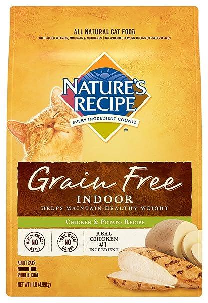 Amazon natures recipe grain free dry indoor cat food chicken natures recipe grain free dry indoor cat food chicken and potato recipe 11 forumfinder Gallery