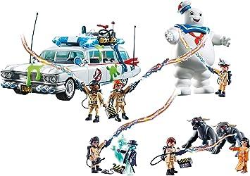 Outletdelocio Set Completo Playmobil Ghostbusters. Coche Cazafantasmas, Marshmallow, Spengler, Vekman. 126 Piezas.: Amazon.es: Juguetes y juegos